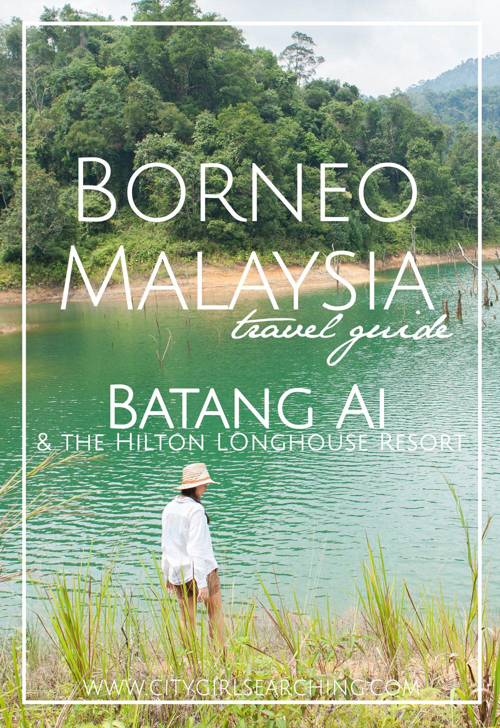 Borneo Malaysia Travel Guide Bantang Ai Lake Hilton Hotel