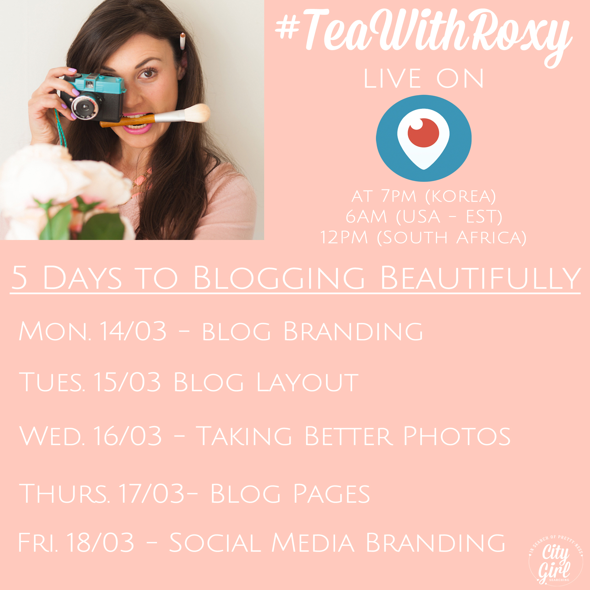 BeautifyYourBlog Periscope CityGirlSearching
