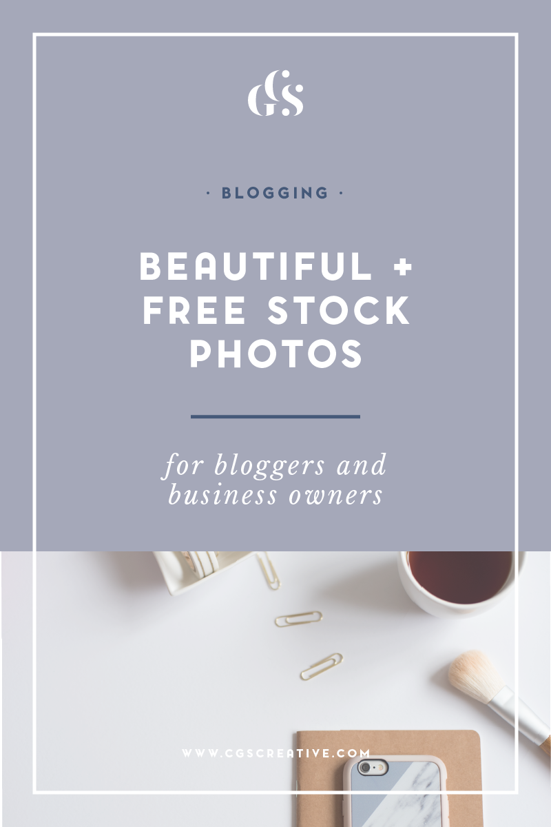 beautiful free stock photos for bloggers and creative business owners CGScreative Resource Library