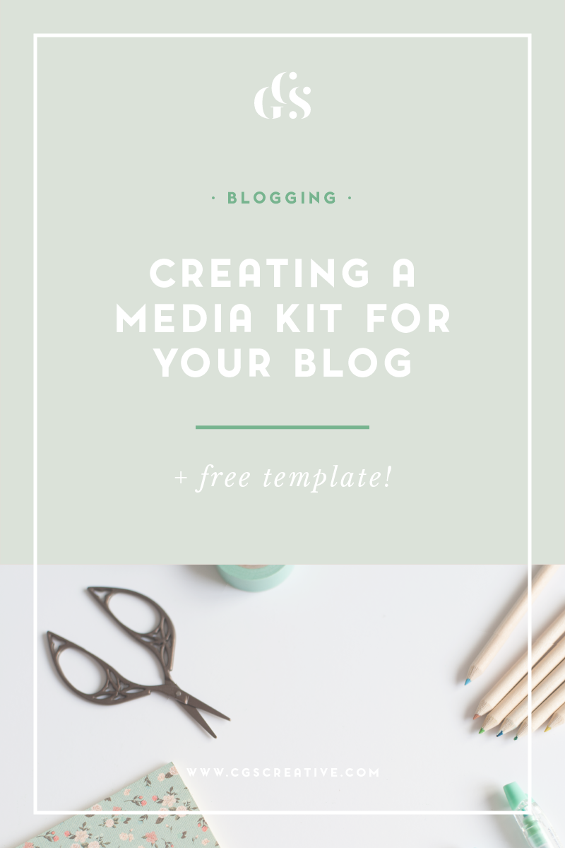 How to create a media kit by CityGirlSearching Plus free printable