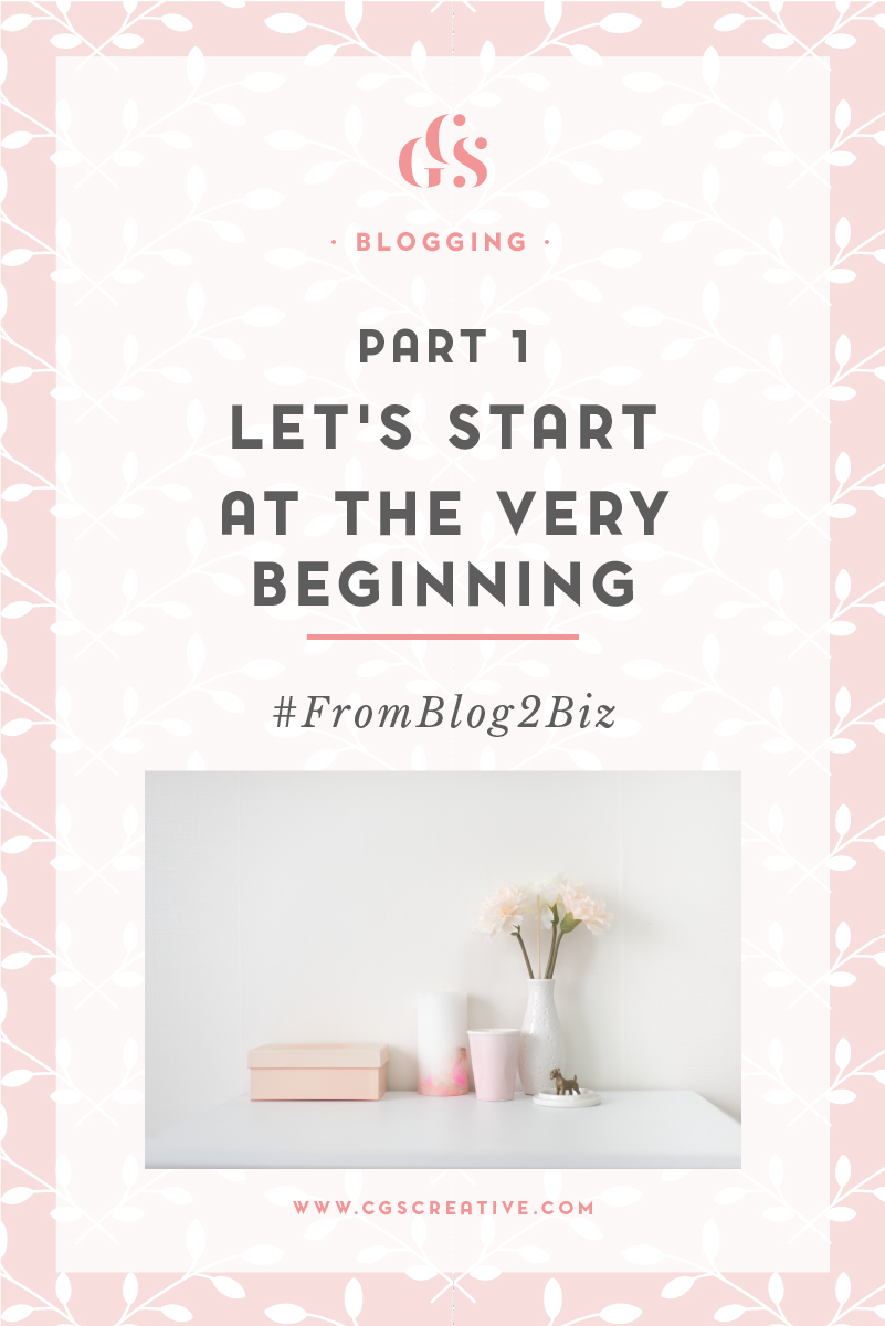 #FromBlog2Biz journey from blogger to business owner Part 1