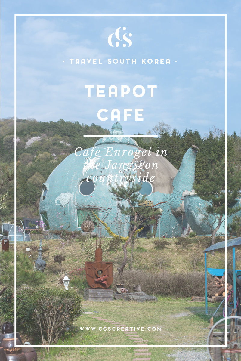 Thinsgs to do in South Korea Teapot Cafe Enrogel Jangseon countryside