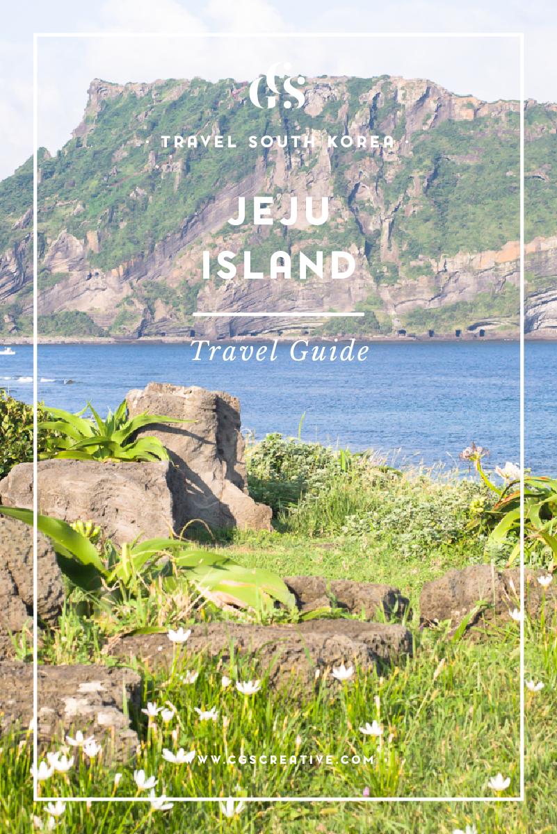 Jeju Island South Korea Travel Guide Camping hiring a car