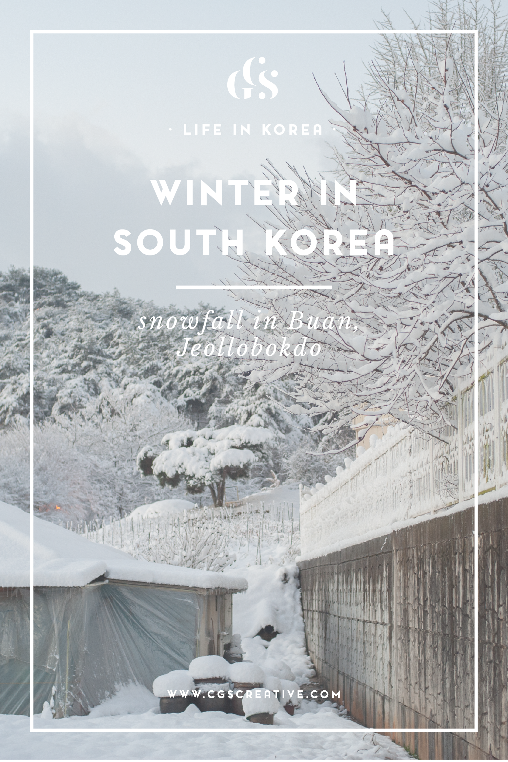 Winter in Korea CityGirlSearching