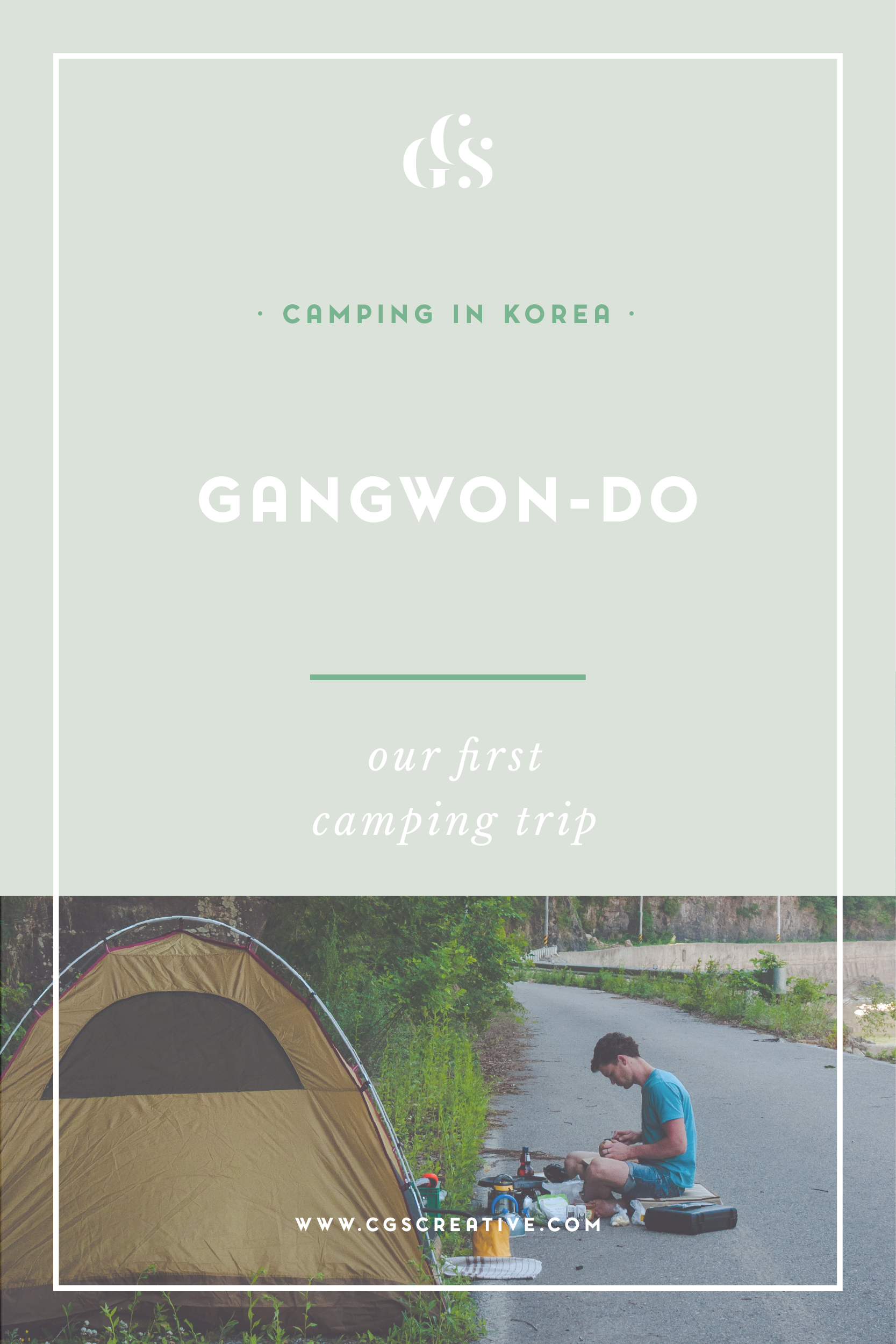 Camping South Korea Gangwon Province