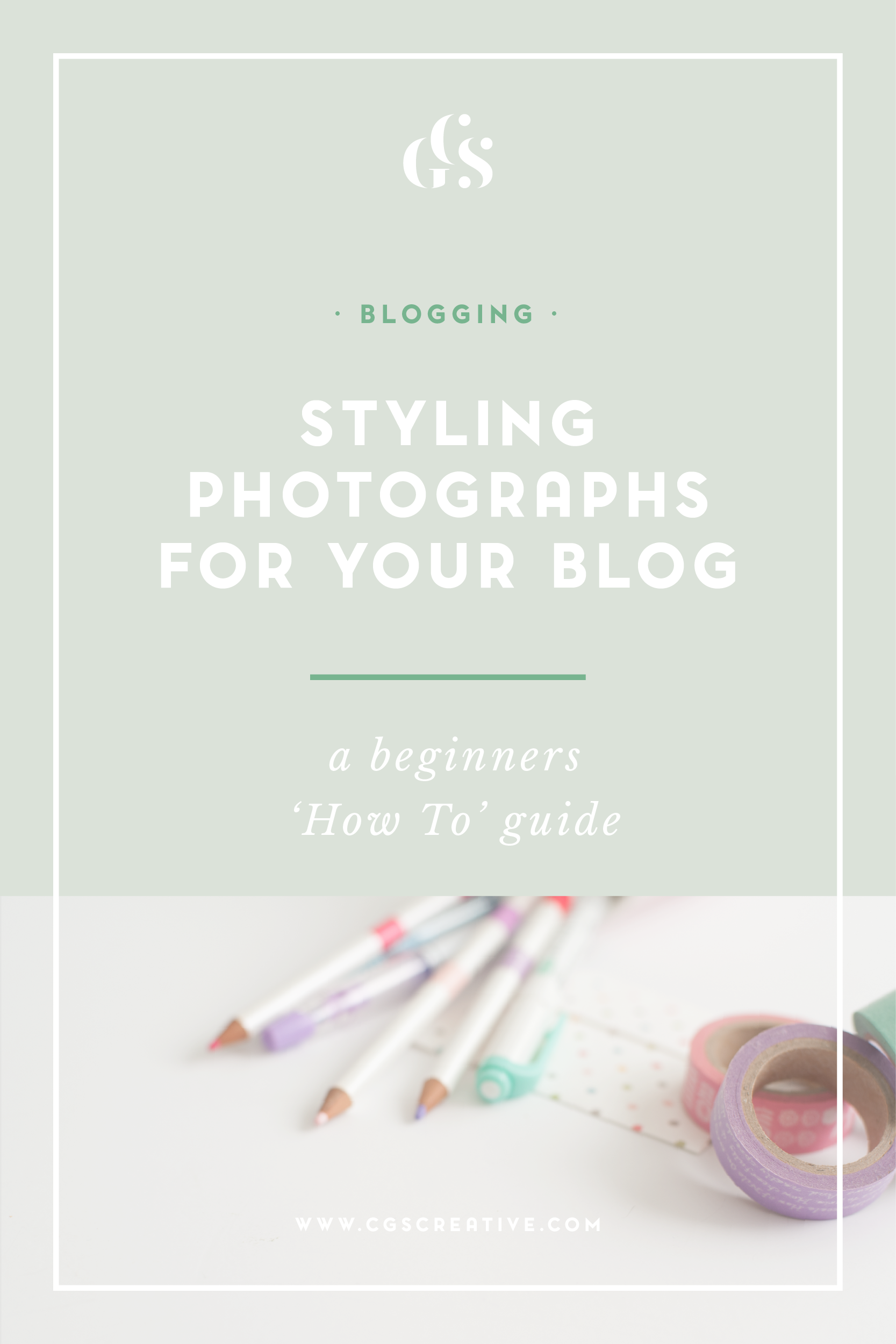 How to style your own photographs for your blog