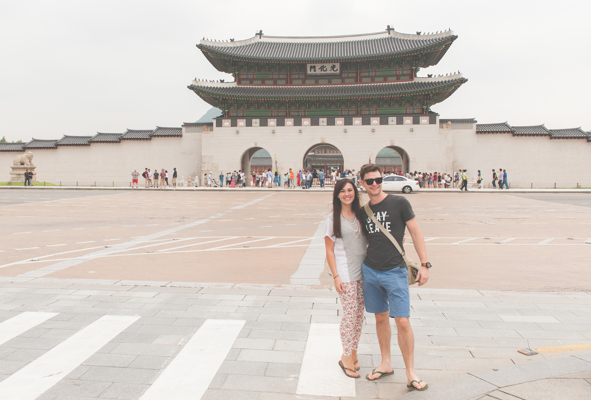 Farmboy and citygirl leave Korea south africans in South korea