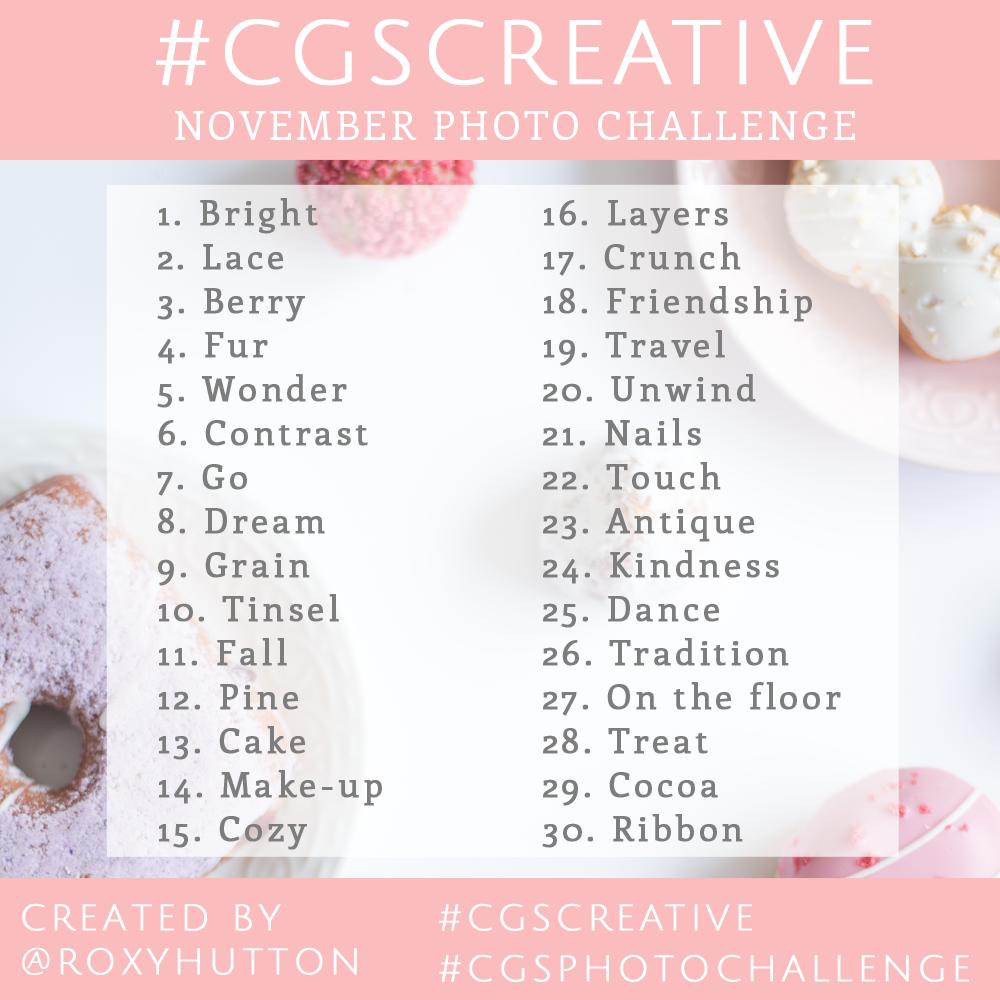 CGScreative Instagram challenge How to grow your Instagram account