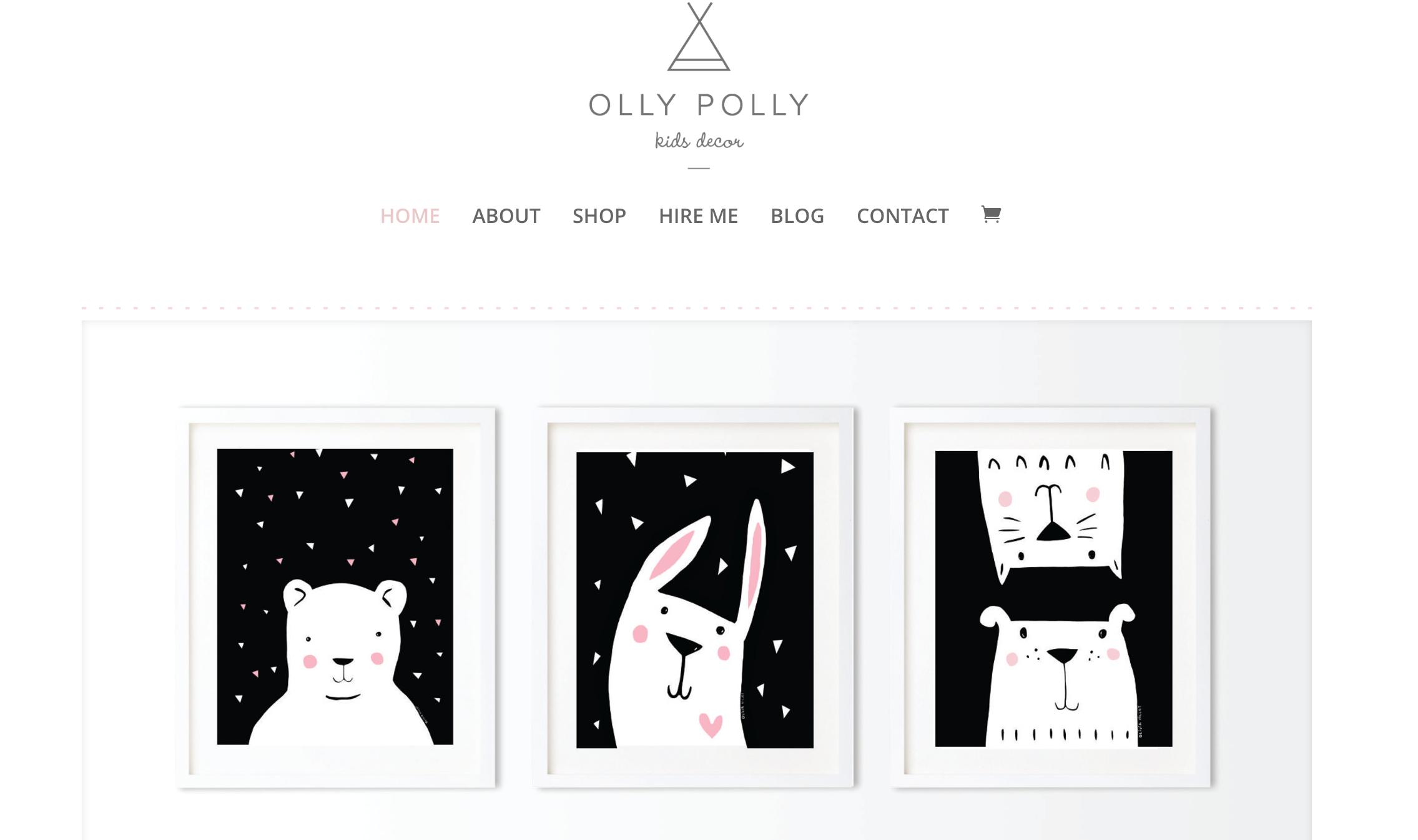 Olly Polly Kids Decor