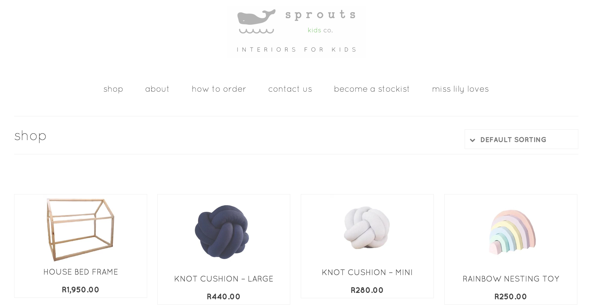 Sprout Kids Co Interiors for Kids