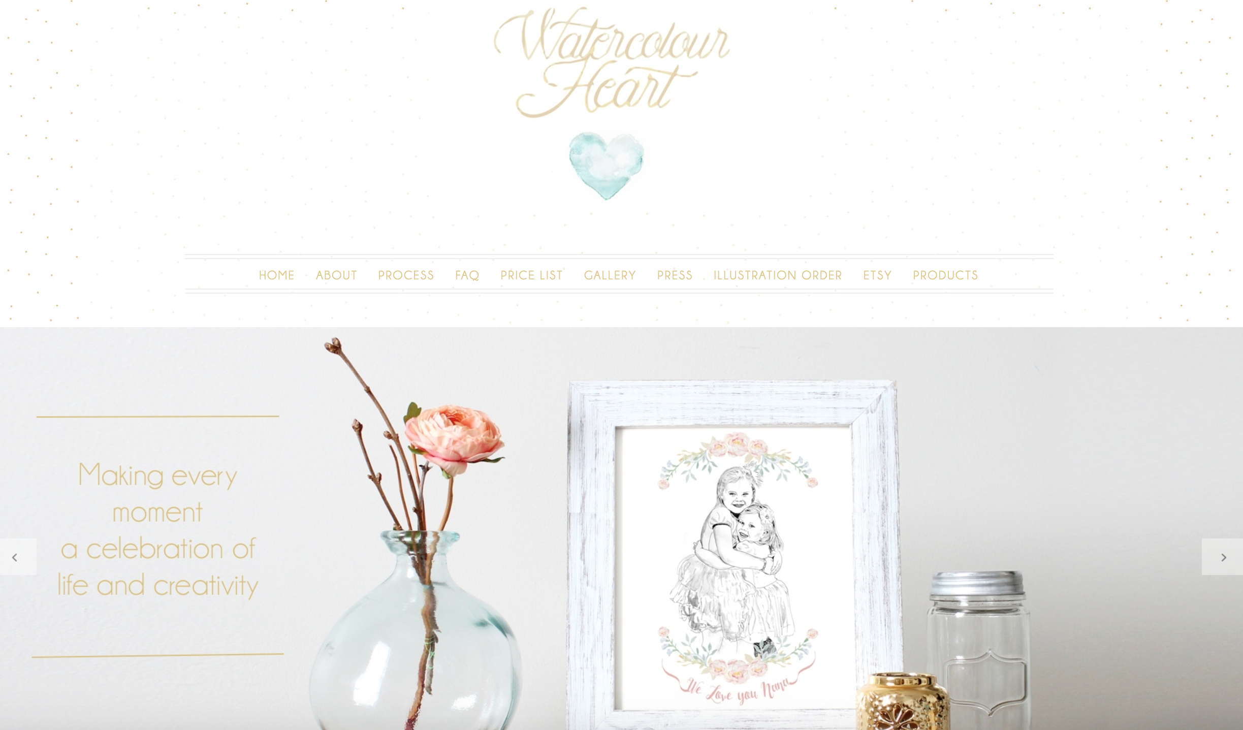 personalised watercolour portraits gifts