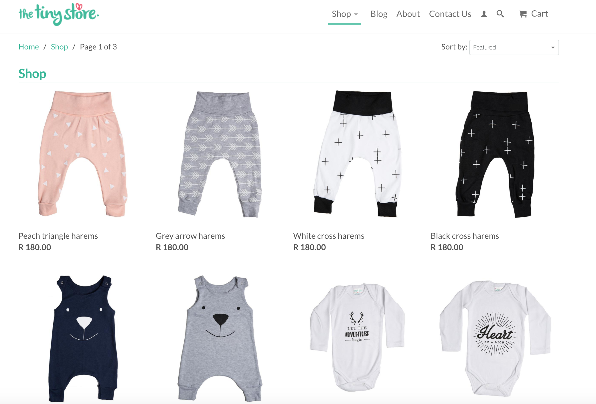 The Tiny Store - baby kids clothing & accessories