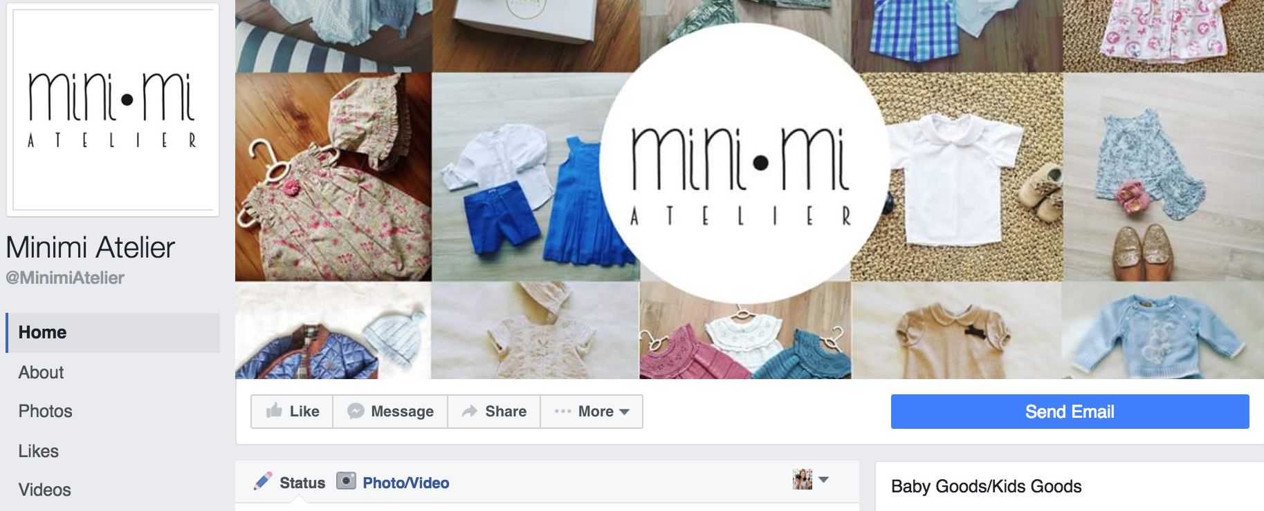 Minimi Aterlier - Pretty & smart Baby & Toddler clothing & accessory store