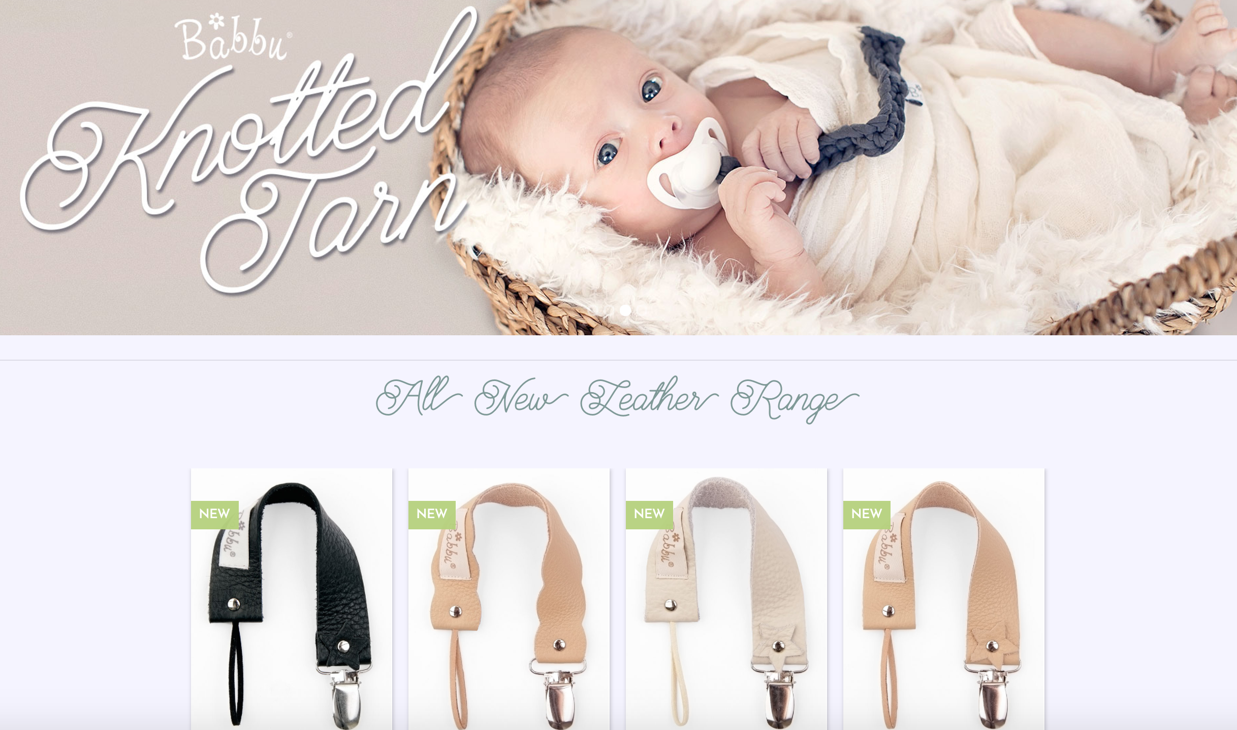 Babbu - Dummy Clips & Unique Baby Products