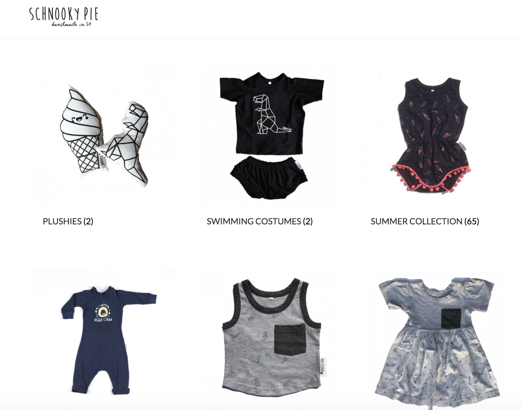 Schnooky Pie - exclusive South African baby clothing brand
