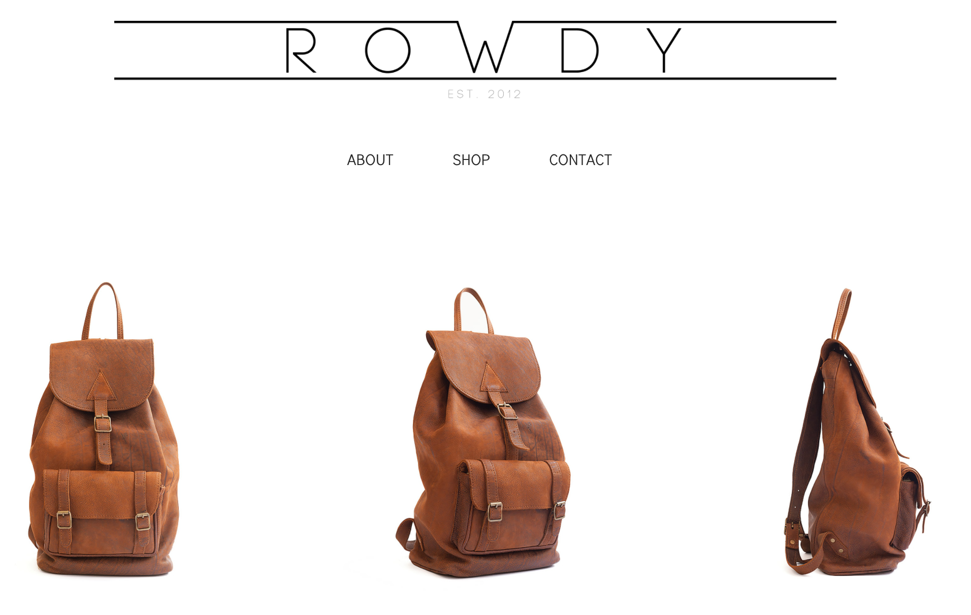 Rowdy Leather Bags