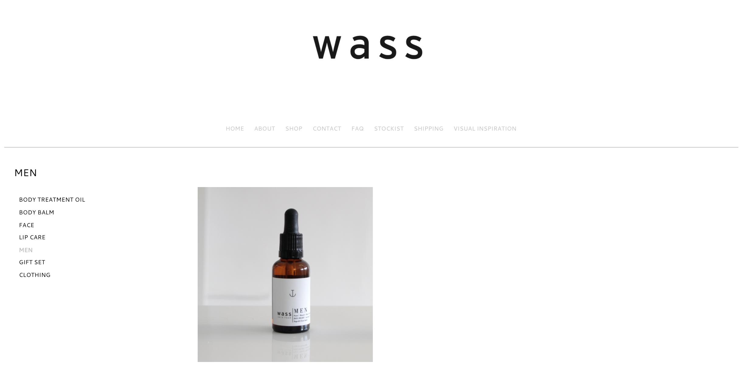 Wass beard oil