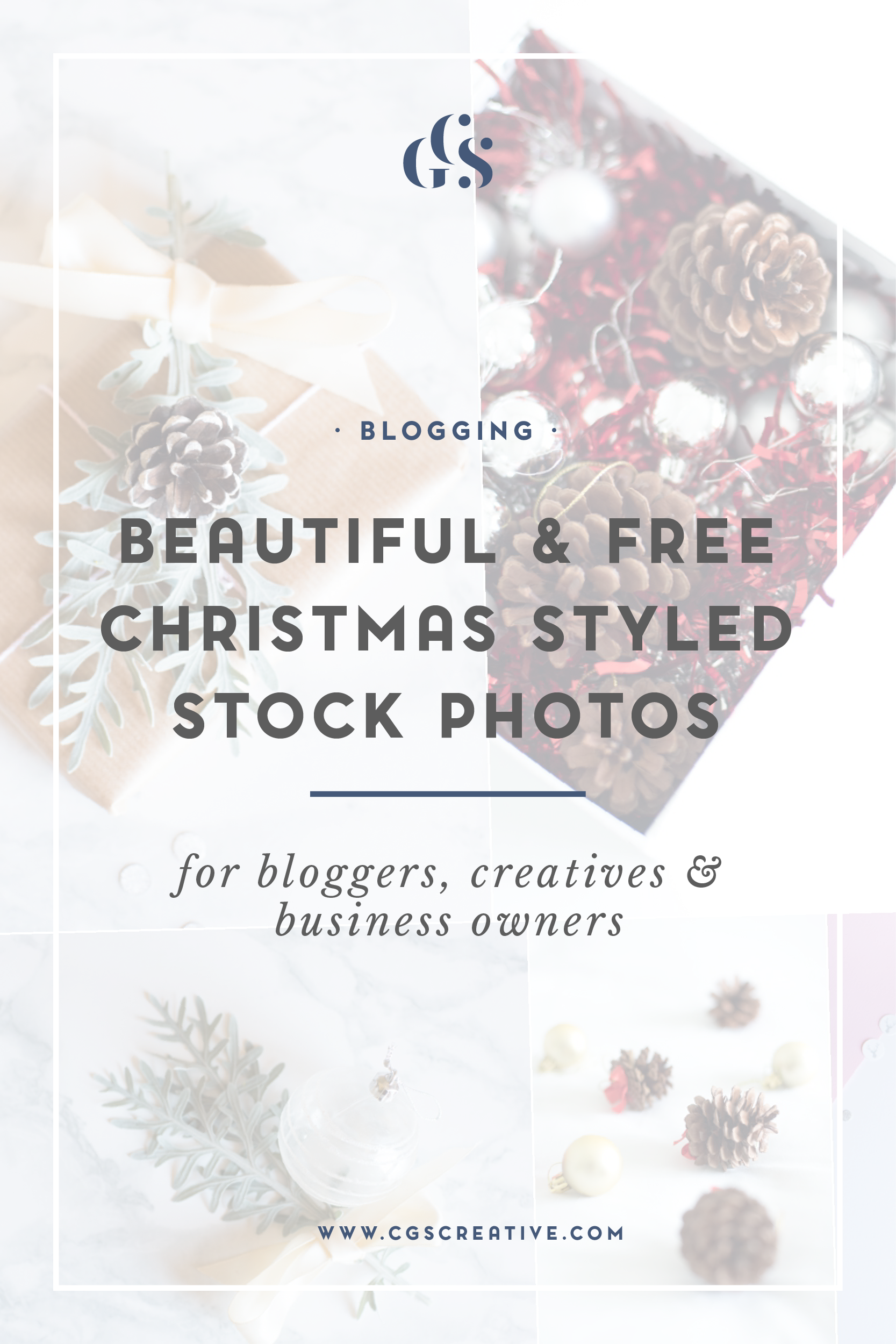 Beautiful & Free Christmas Styled Stock Images for your Blog, Business or Social Media posts