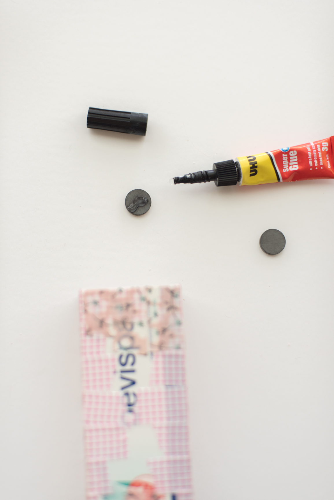 DIY How to make Magnetic Pen Holder for the Fridge by CGScreative (10 of 15).JPG