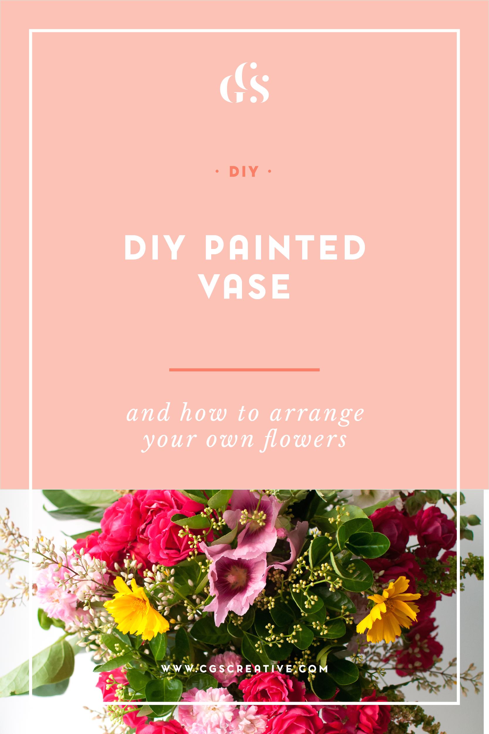DIY Vase Flower Arranegment #DIYDaysInKorea