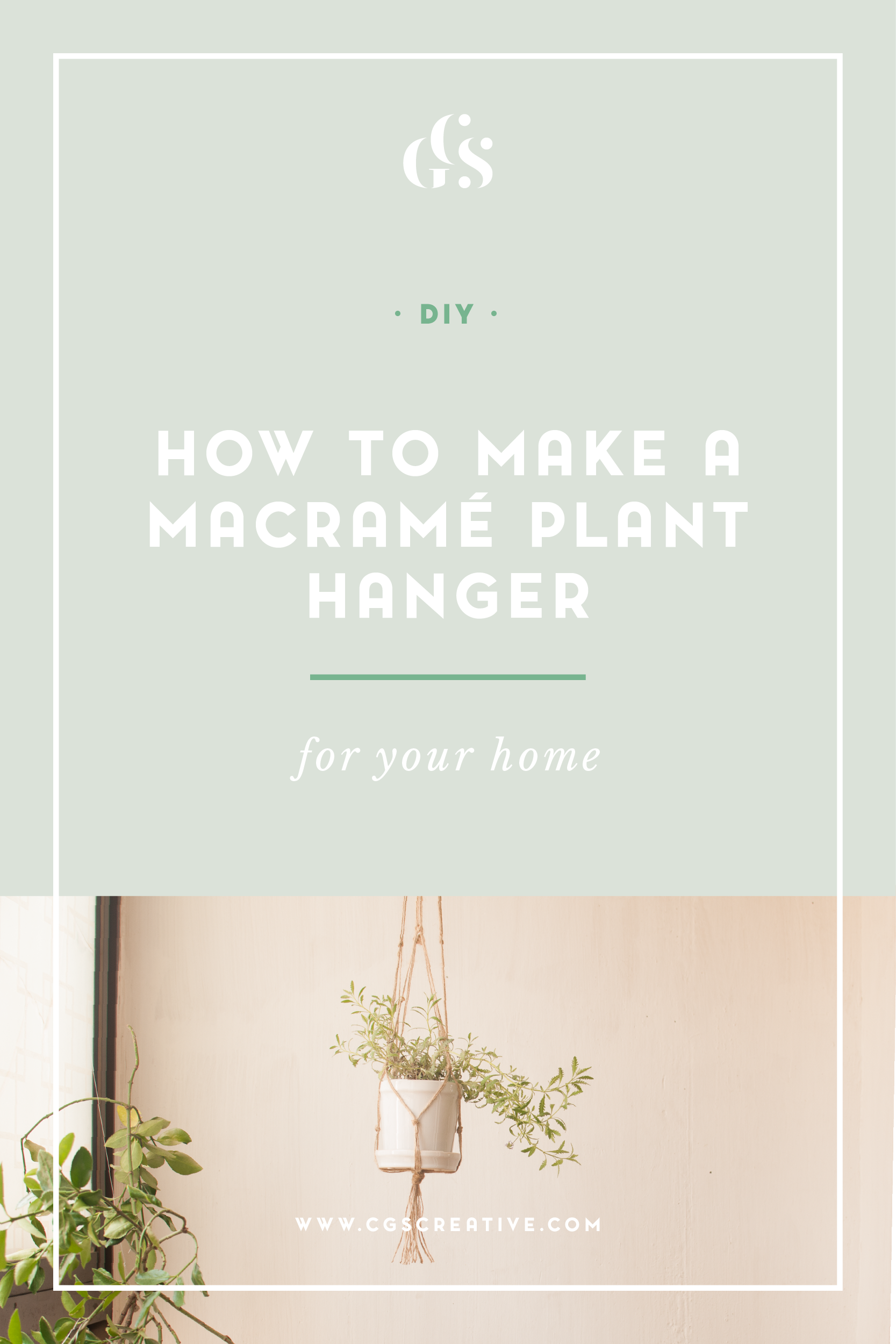 CityGirlSearching How To Make A Macrame Plant Holder DIY