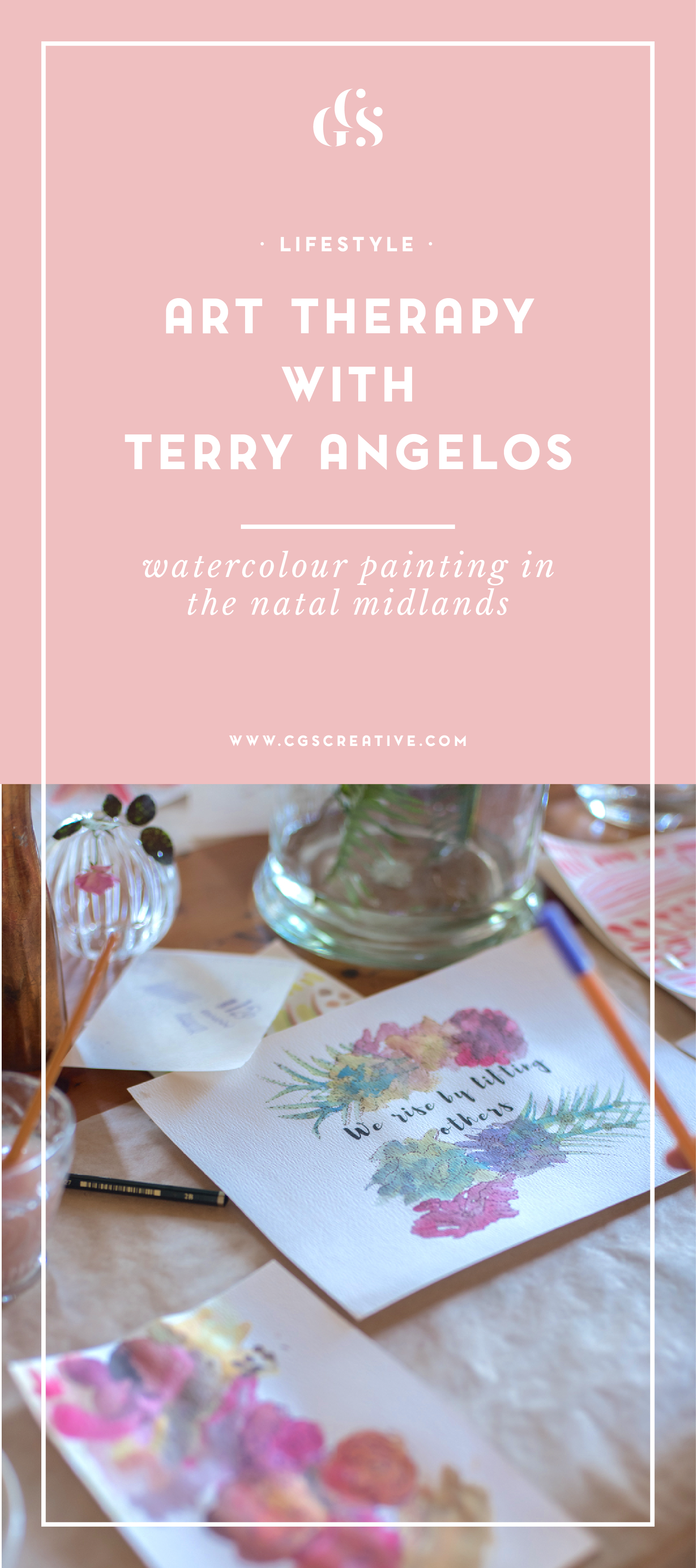 Terry Angelos Art Therapy class Natal Midlands