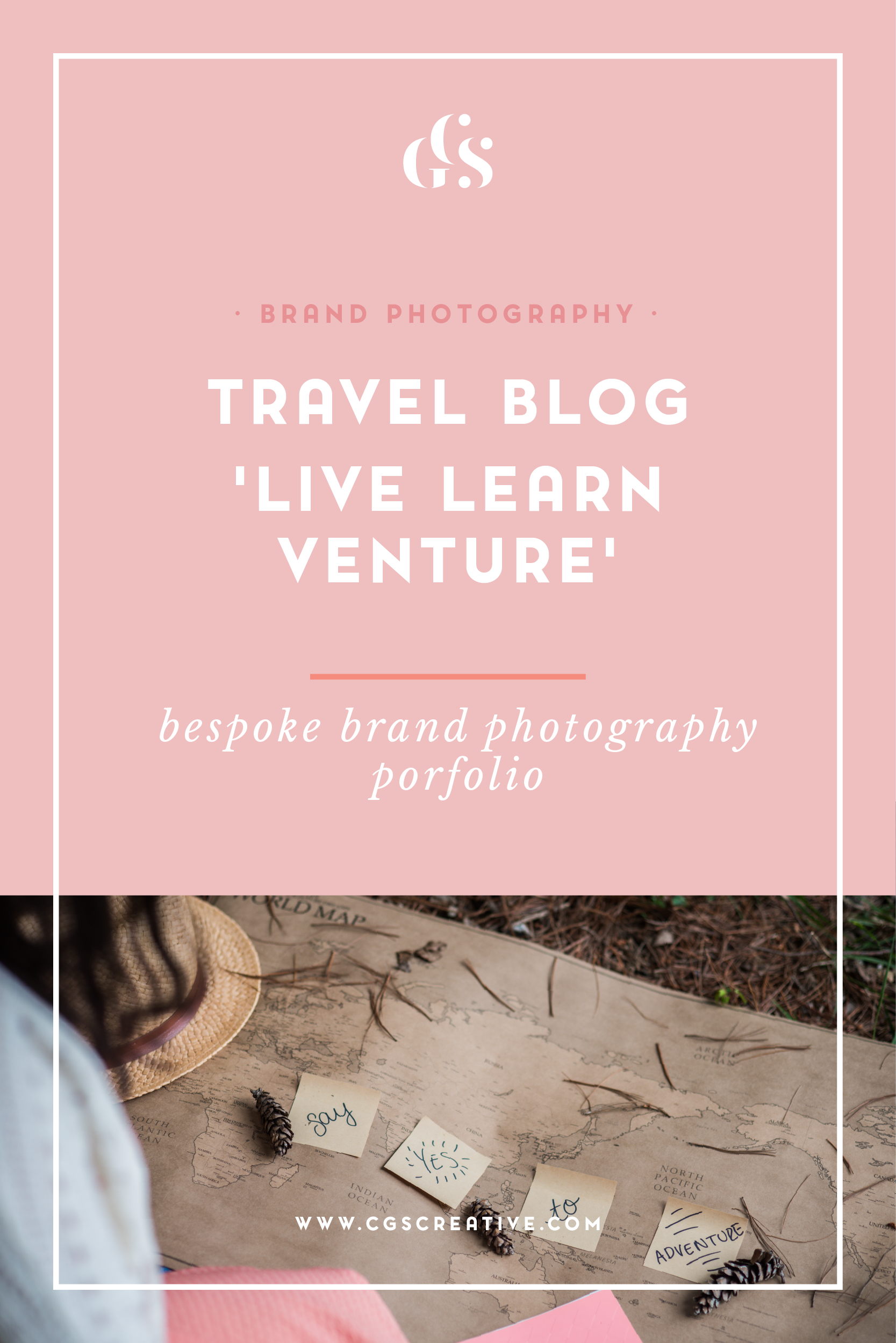 Travel Blog Brand photography by CGScreative bespoke brand photography for creatives, bloggers and business owners