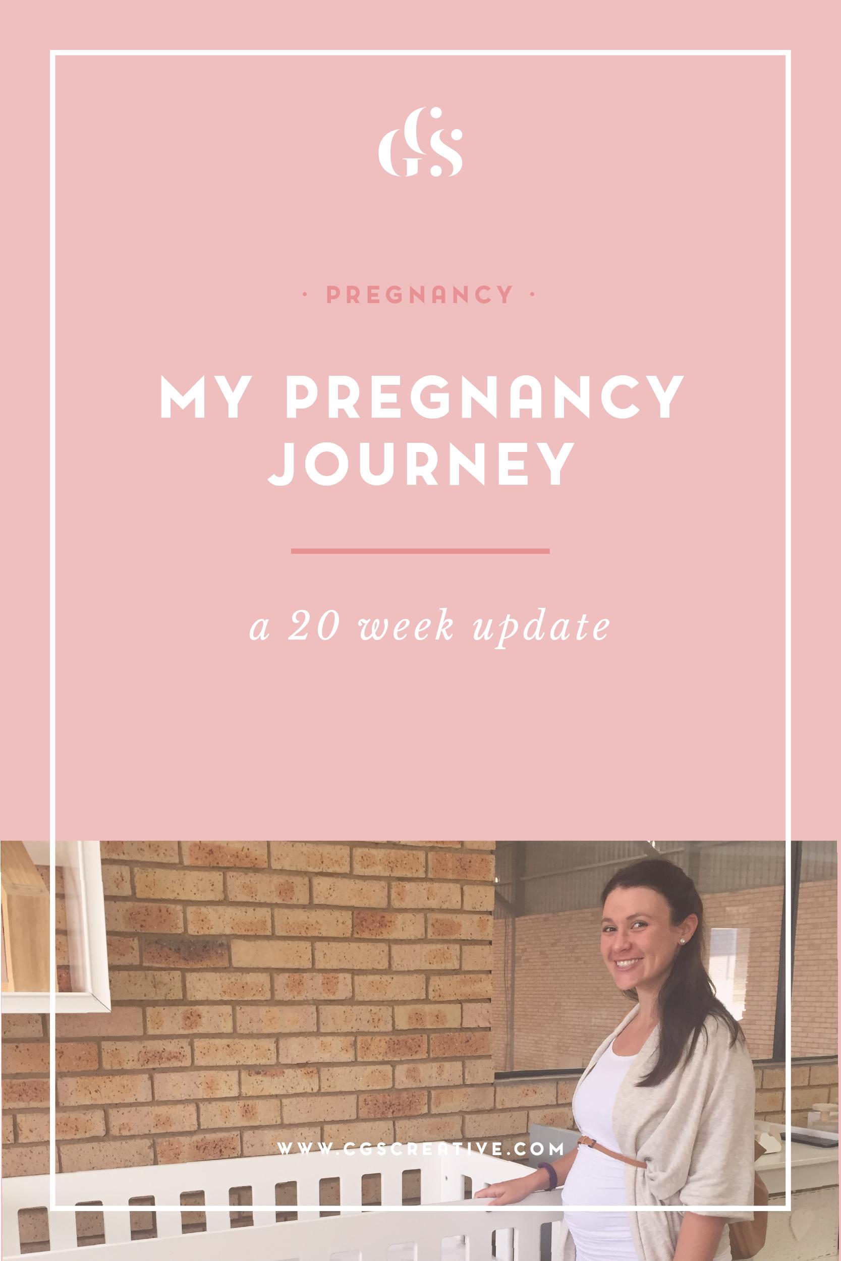 My pregnancy update week 20