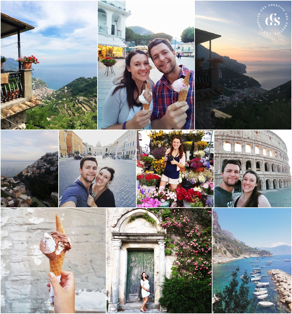 italy babymoon 6 months pregnant