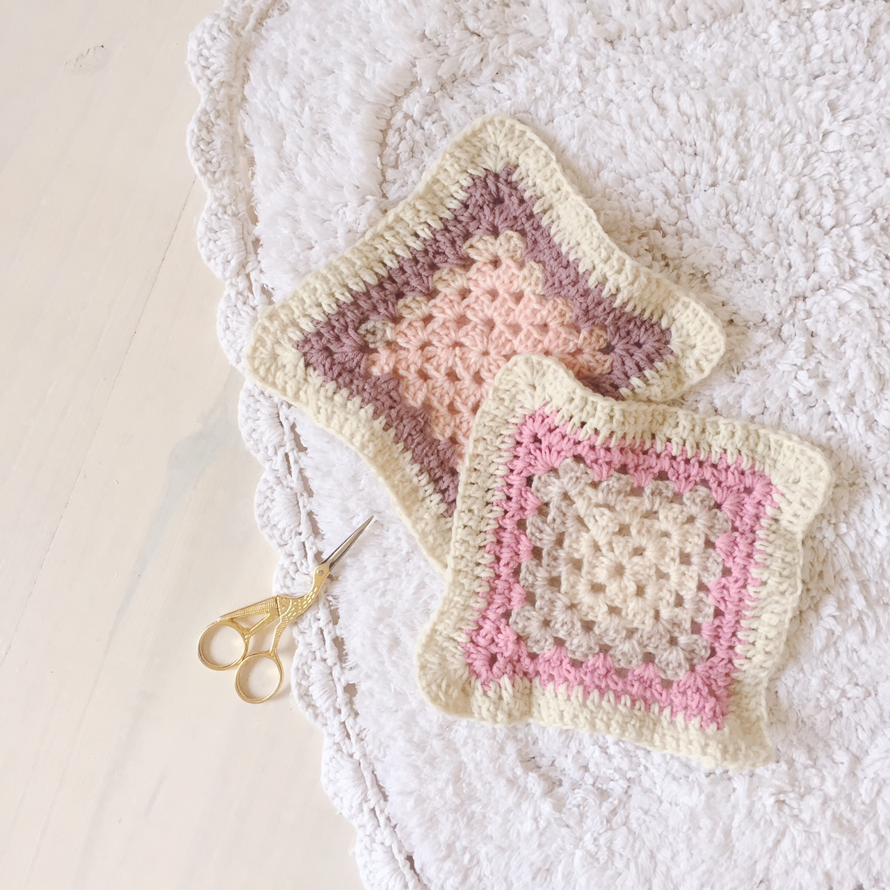 Craft Project - Crochet baby blanket