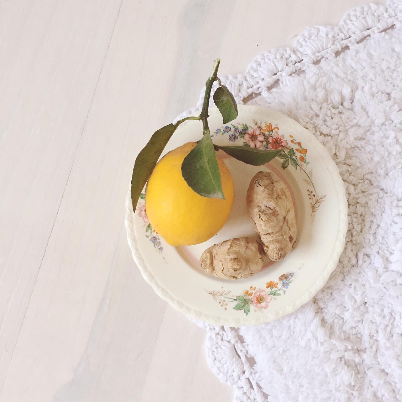 Caffeine Free Drink - Lemon, Ginger & Honey Tea