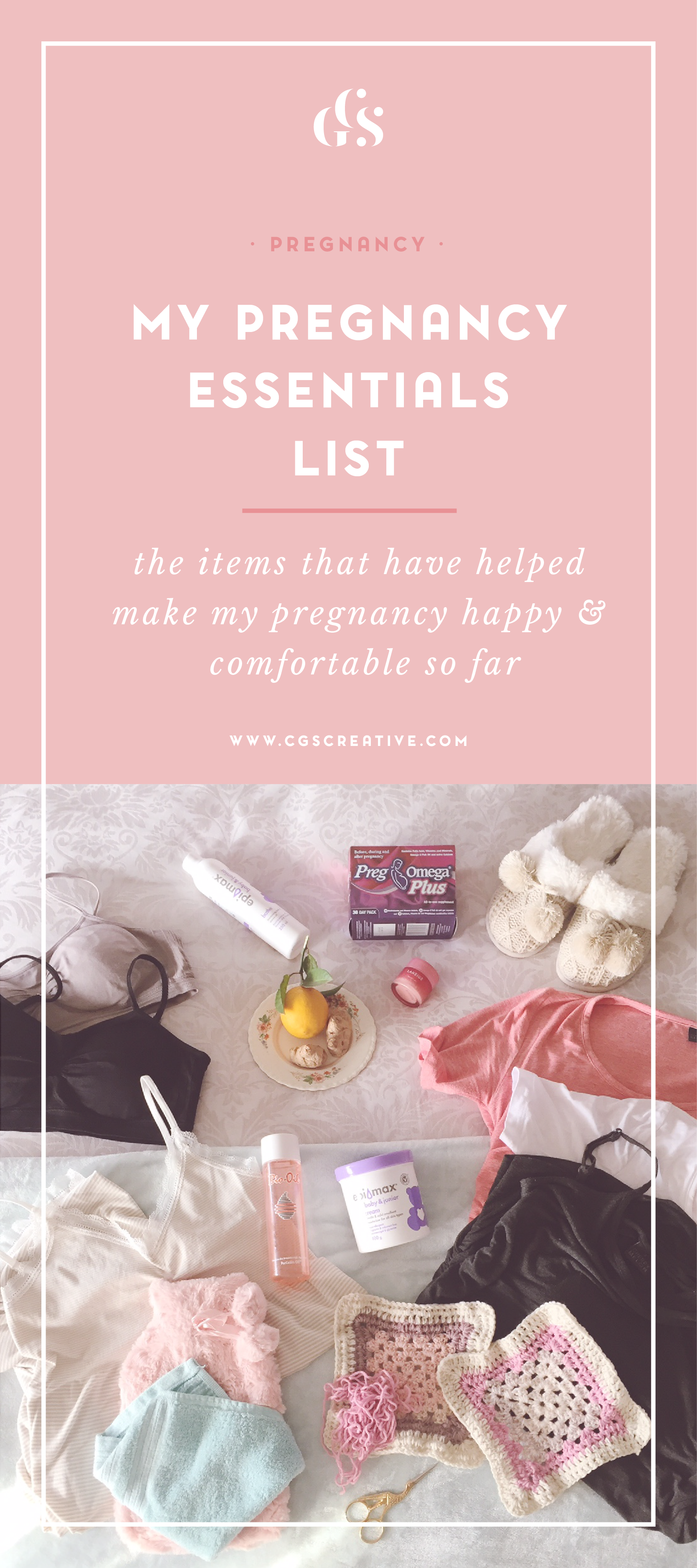 My Pregnancy Essentials List - Items that have made my pregnancy happy & comfortable CityGirlSearching_Artboard 4.png