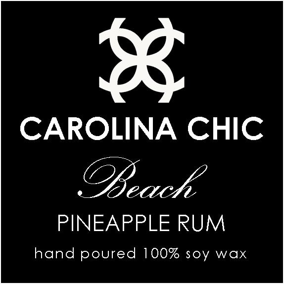 """BEACH / PINEAPPLE RUM  South Carolina is the home of """"Beach Music""""and our official State Dance, the Carolina Shag, which originated along the strands of Myrtle Beach back in the 1940s. This fragrance is reminiscent of listening to those familiar tunes while basking on the sandy shores found along our beautiful coastline. It's a mouth-watering tropical cocktail of pineapple, peach, cranberry and orange with just a splash of rum."""
