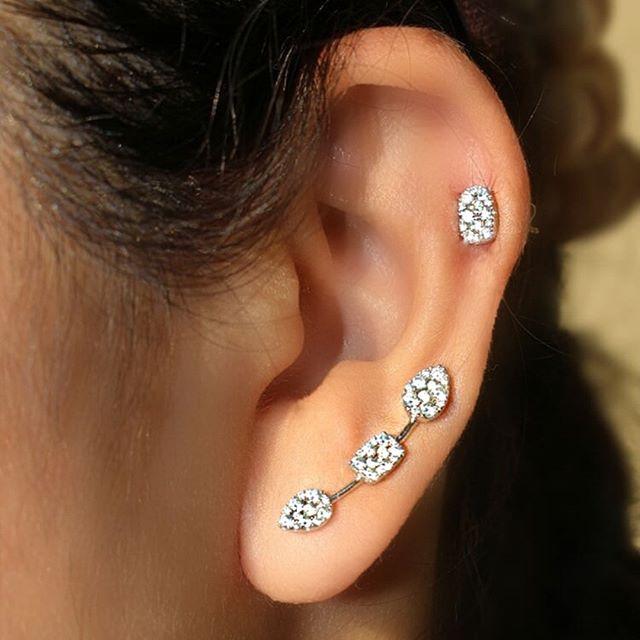 Ear candy🍭🍬🍭 @saraweinstockjewelry