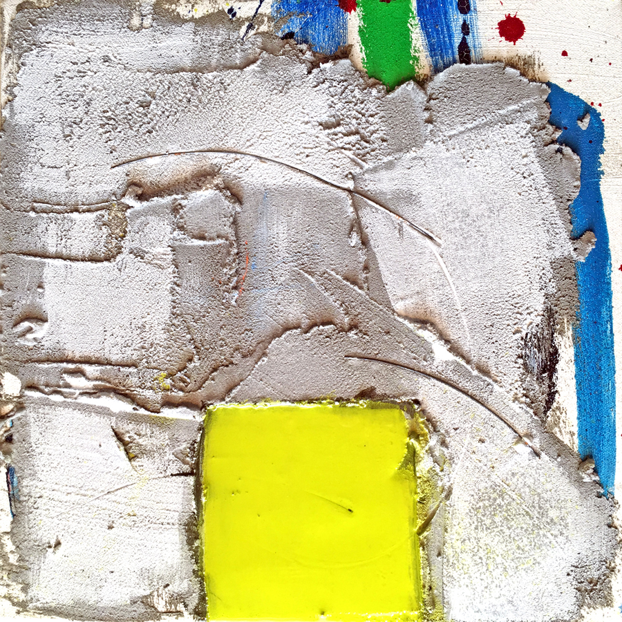 Oil, cement, wire, glass dust on canvas / 12x12 / 350 (set)