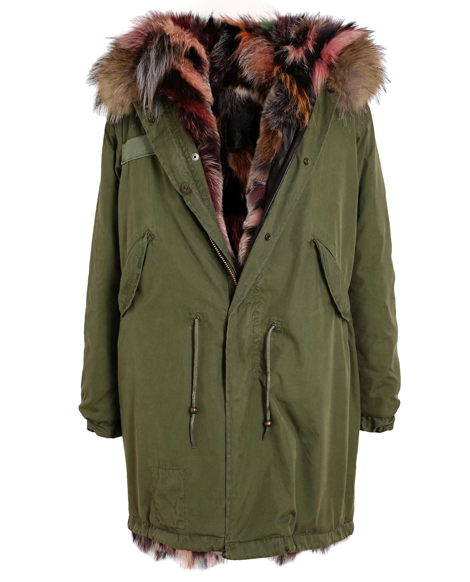 Mr & Mrs Furs  Fully Lined Parka