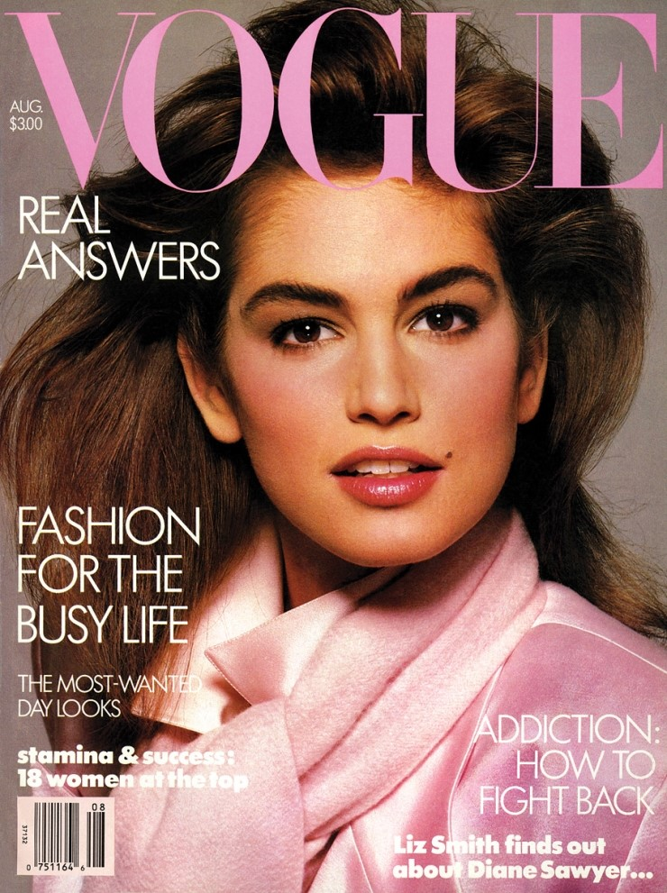 Vogue ,August 1986 Photographed by Richard Avedon