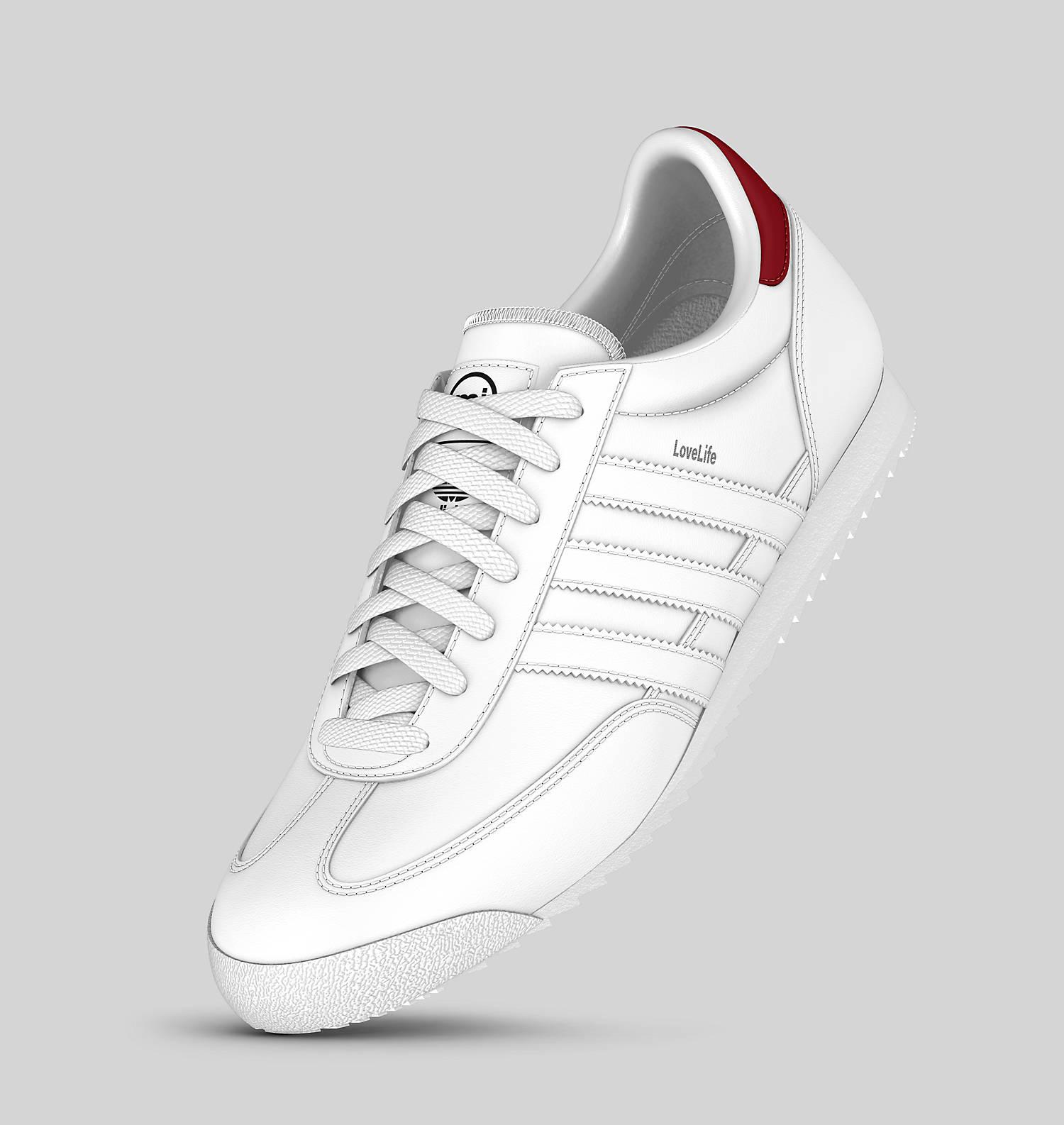 Adidas MI DRAGON Custom Shoes