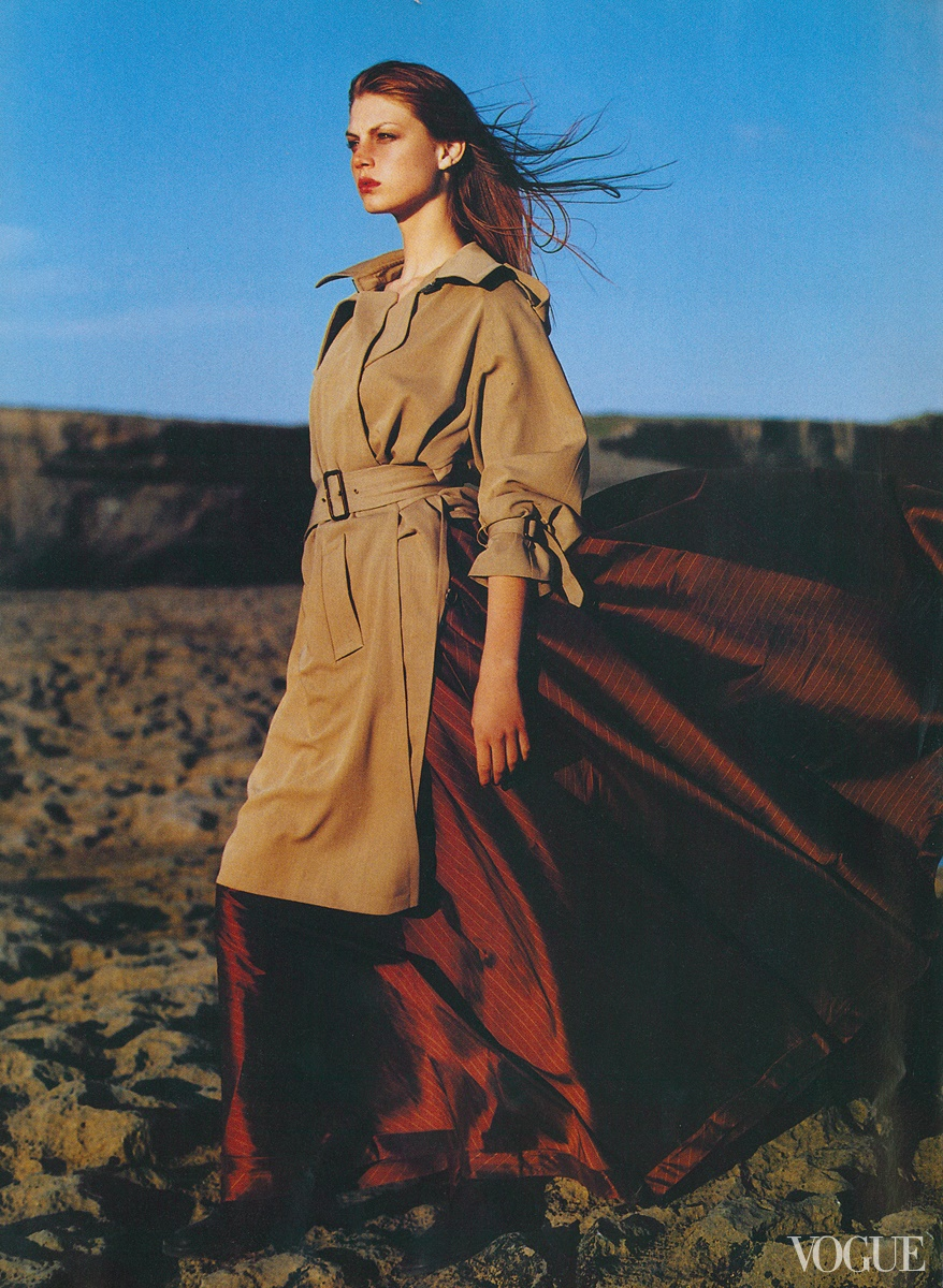 Angela Lindvall - Vogue, September 1998