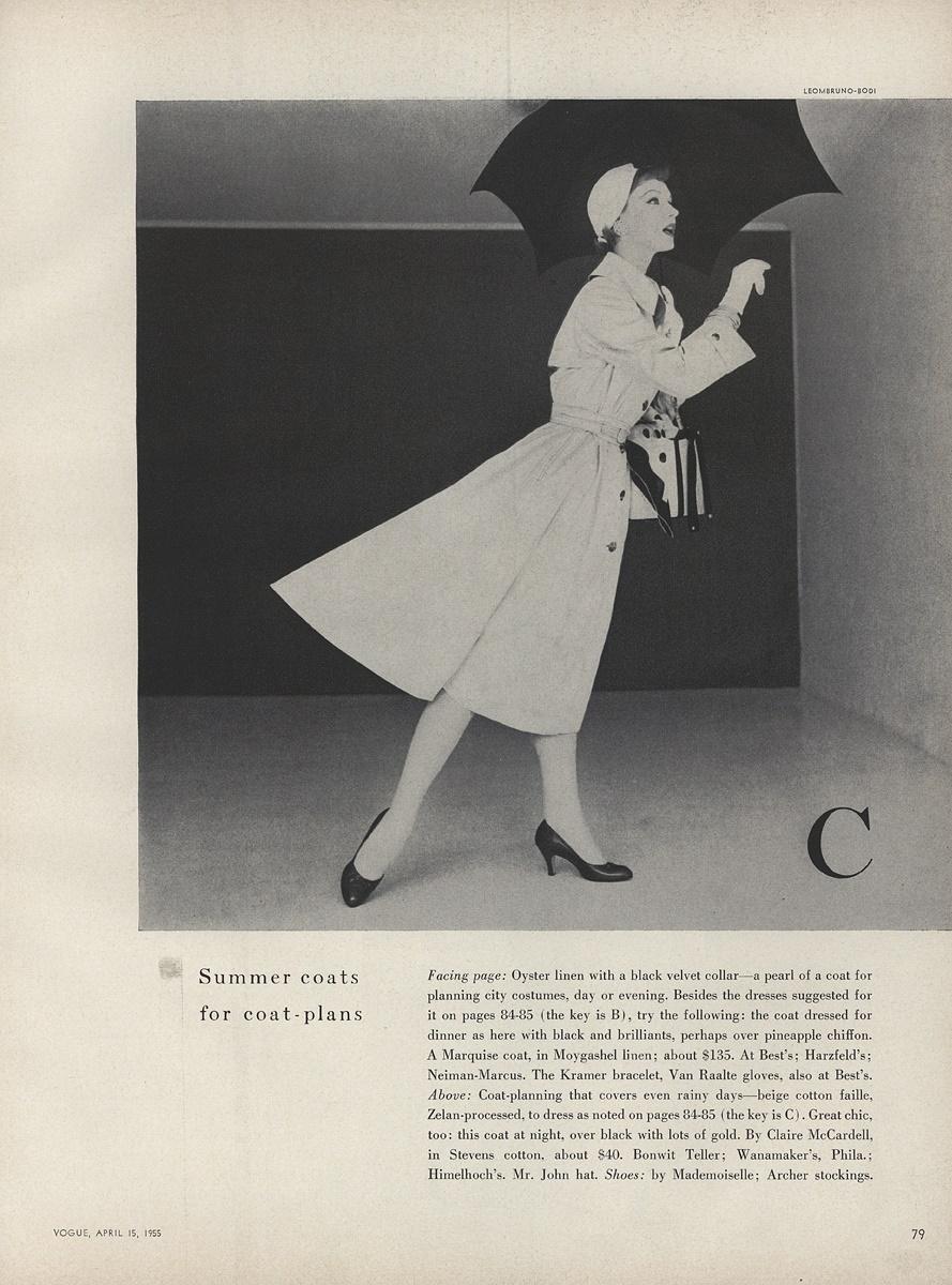 Vogue, April 1955