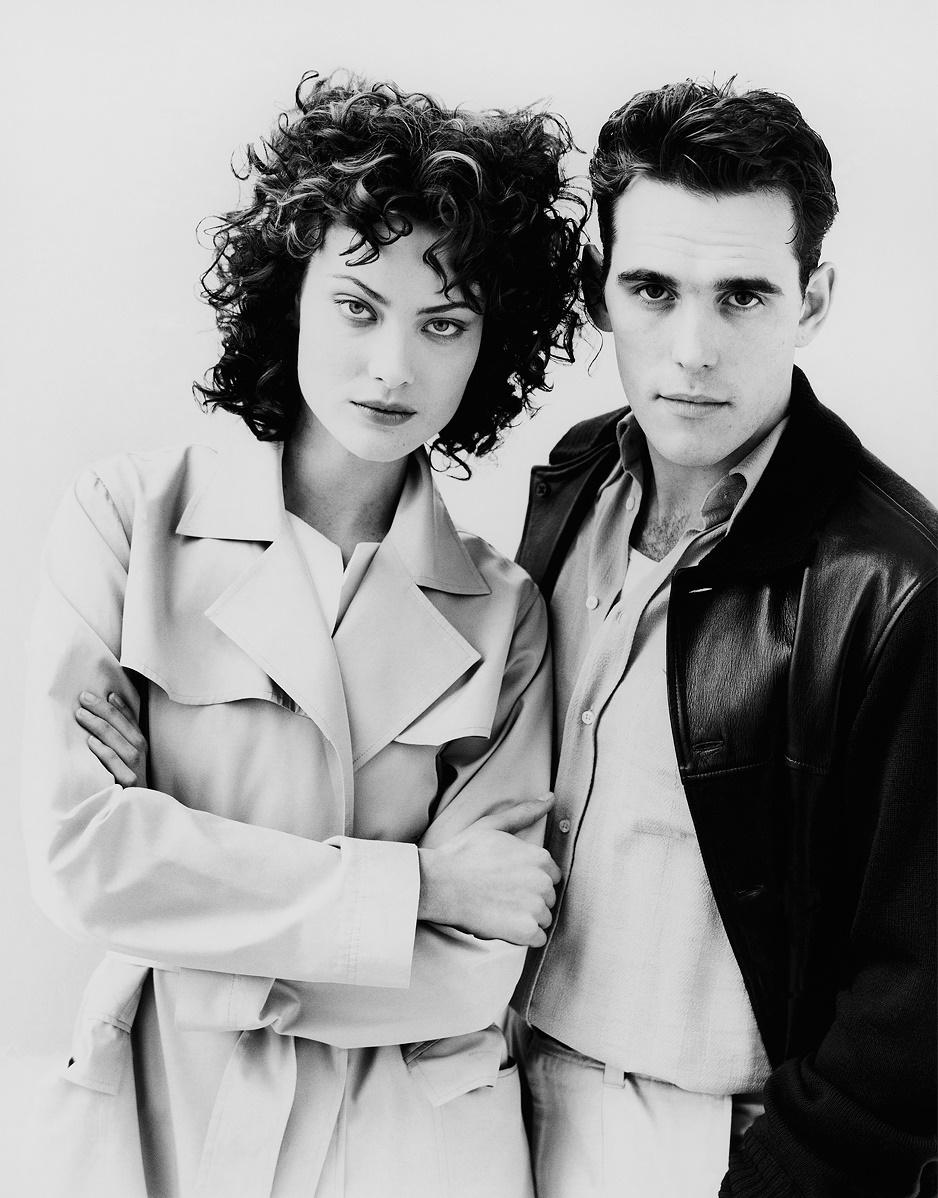 Shalom Harlow & Matt Dillon - Vogue, February 1996