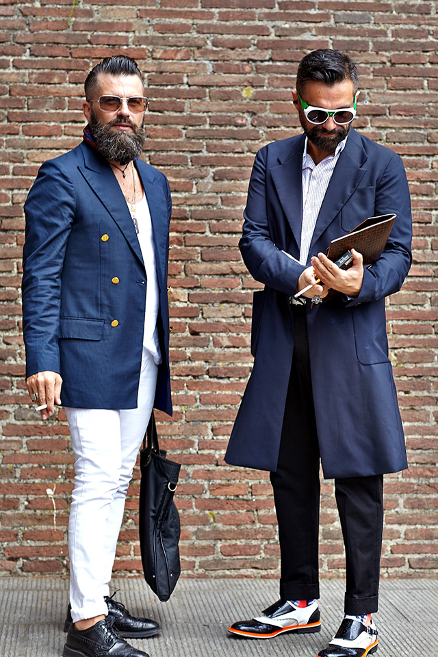 Fashion Report - OUTSIDE PITTI UOMO