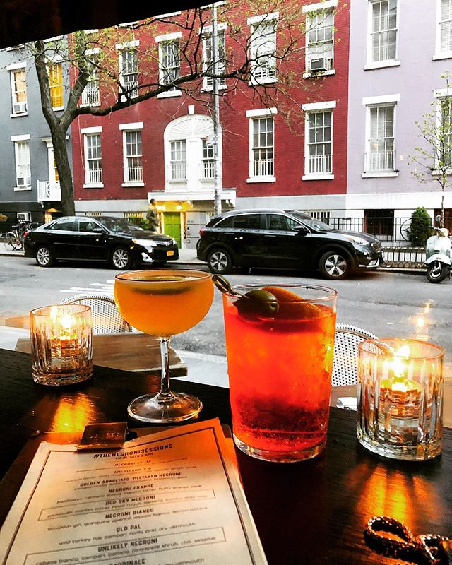 All about this is goals ✨ . . . #goals #drinks #aperolspritz #oldcuban #aperol #dantenyc #westvillage #nyc #newyork #restaurant #photooftheday #reportista