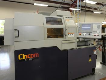 Our milling machine for Titanium   Citizen Cincom L20 CNC