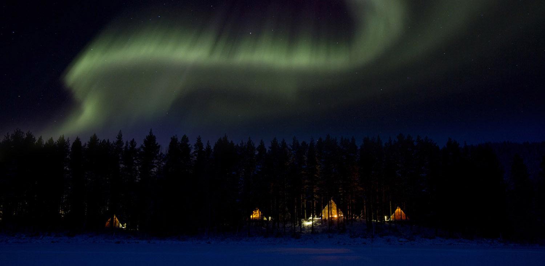Aurora Safari Camp. Fotograf: Fredrik Broman  www.humanspectra.com