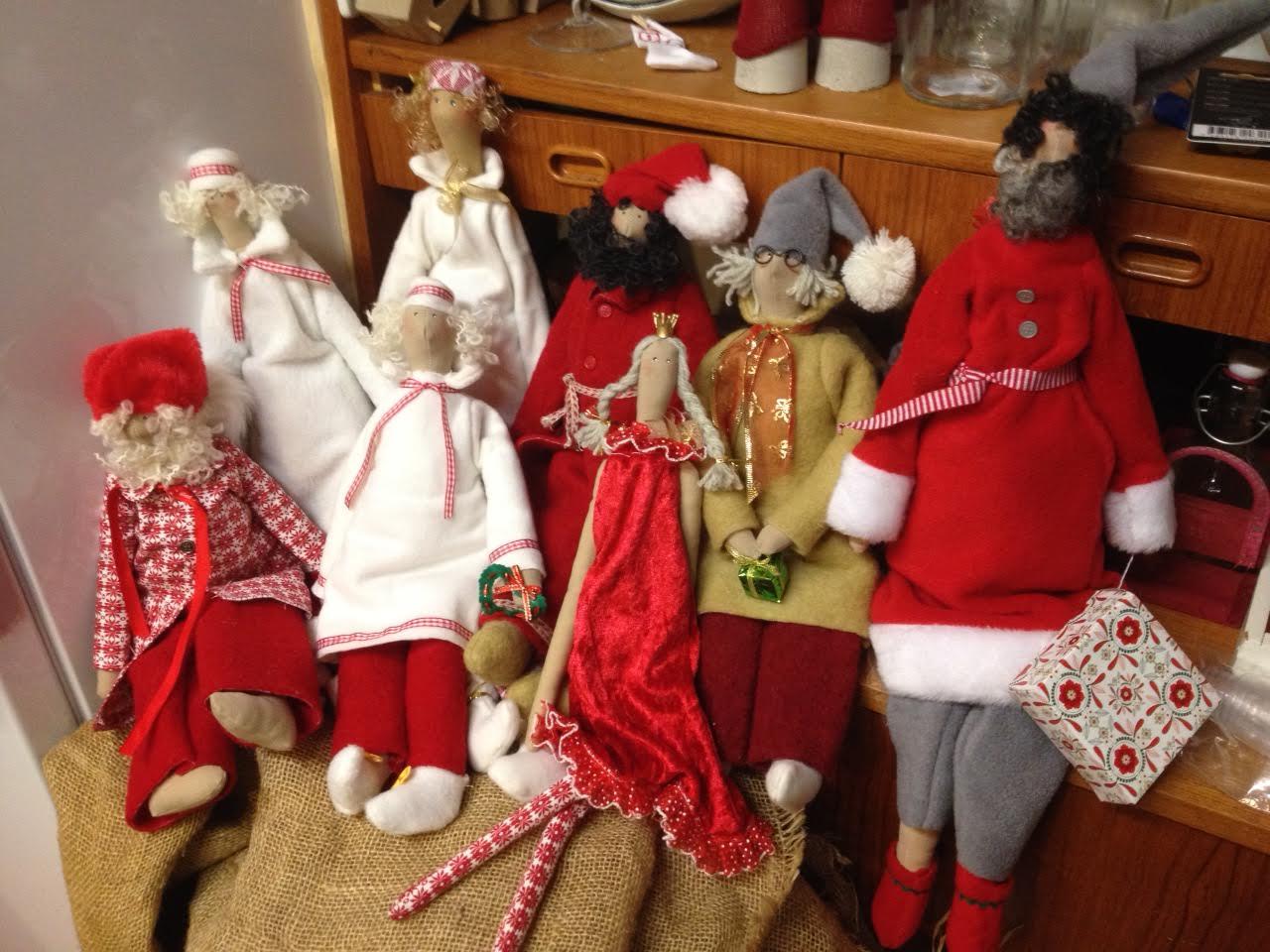 Juldekorationer av Anki Persson