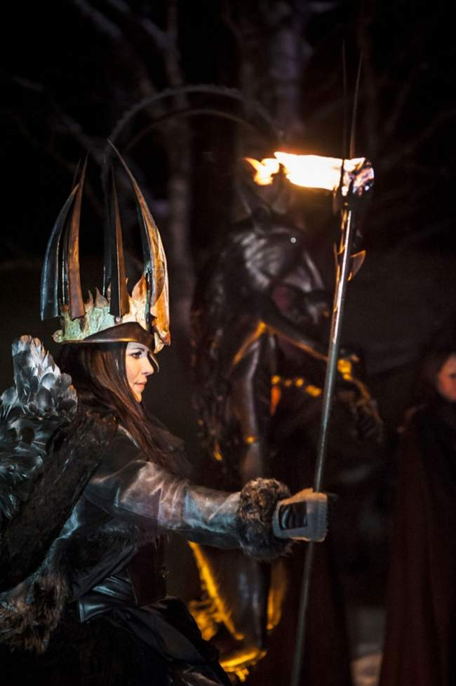 Den alternativa lucian under Midvinterglöd 2012. I år hålls arrangemanget lördag den 14 december.Fotograf: Martin Burmester