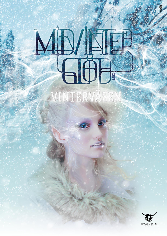 Midvinterglöd 2014 - Vinterväsen  Design & Retush: Anton Alexander Jacobson  Makeup,styling & foto: Petra Shara Stoor  Modell: Alma Karlsson