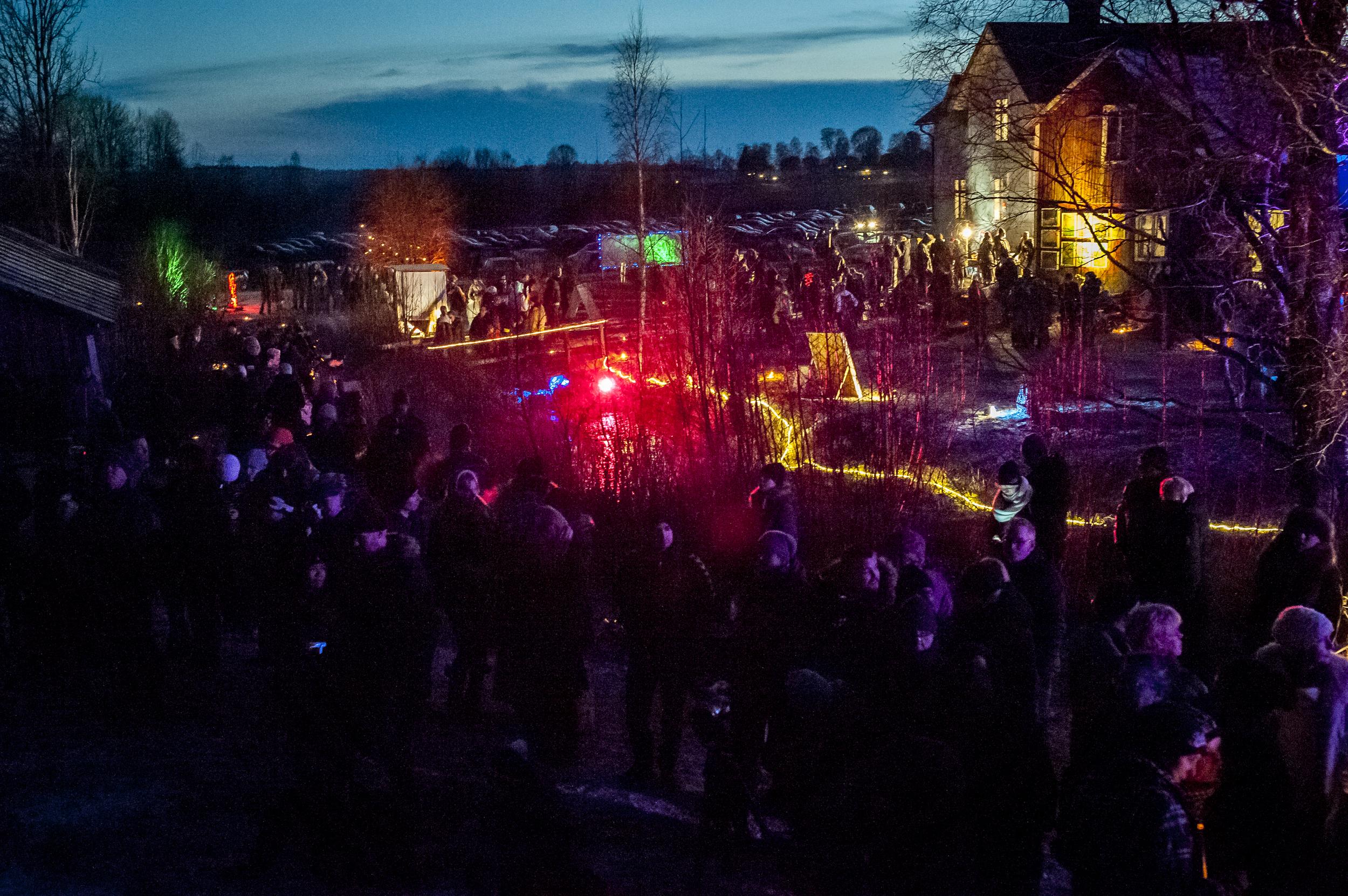 Midvinterglöd 13 December 2014 - Vinterväsen. Foto: Martin Burmester,   www.martinburmester.eu
