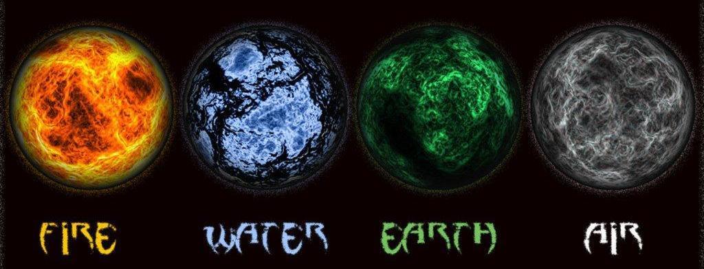 de fyra elementen